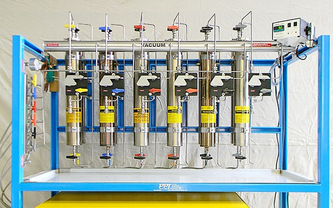 University of Wisconsin using a PPT Solvent Purification System