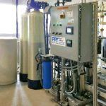 RO System Package with Reject Water Skid