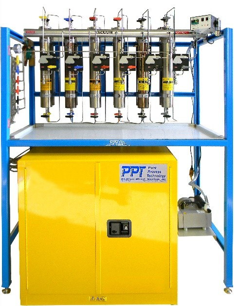 Solvent Purification cabinet Mount