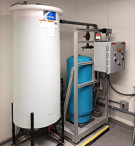 Biotechnology Water Purification System installed