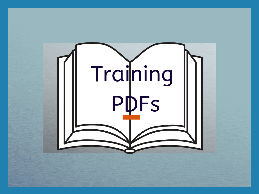 Solvent Training PDFs