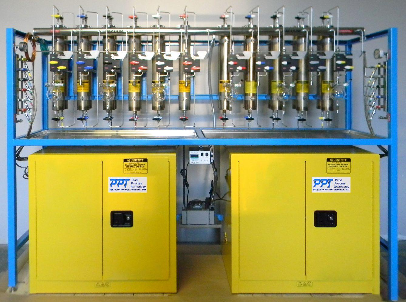Top of the line Solvent Purification Systems